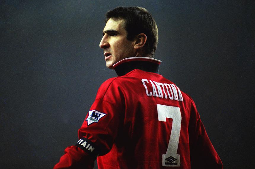 My new manager invited me to watch the match between leeds united and notts county. Game Changers Eric Cantona