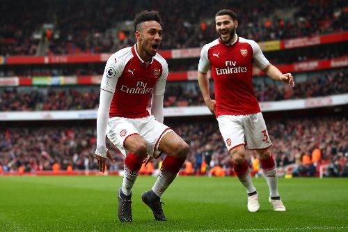 Arsenal v Watford, 2017/18 | Premier League