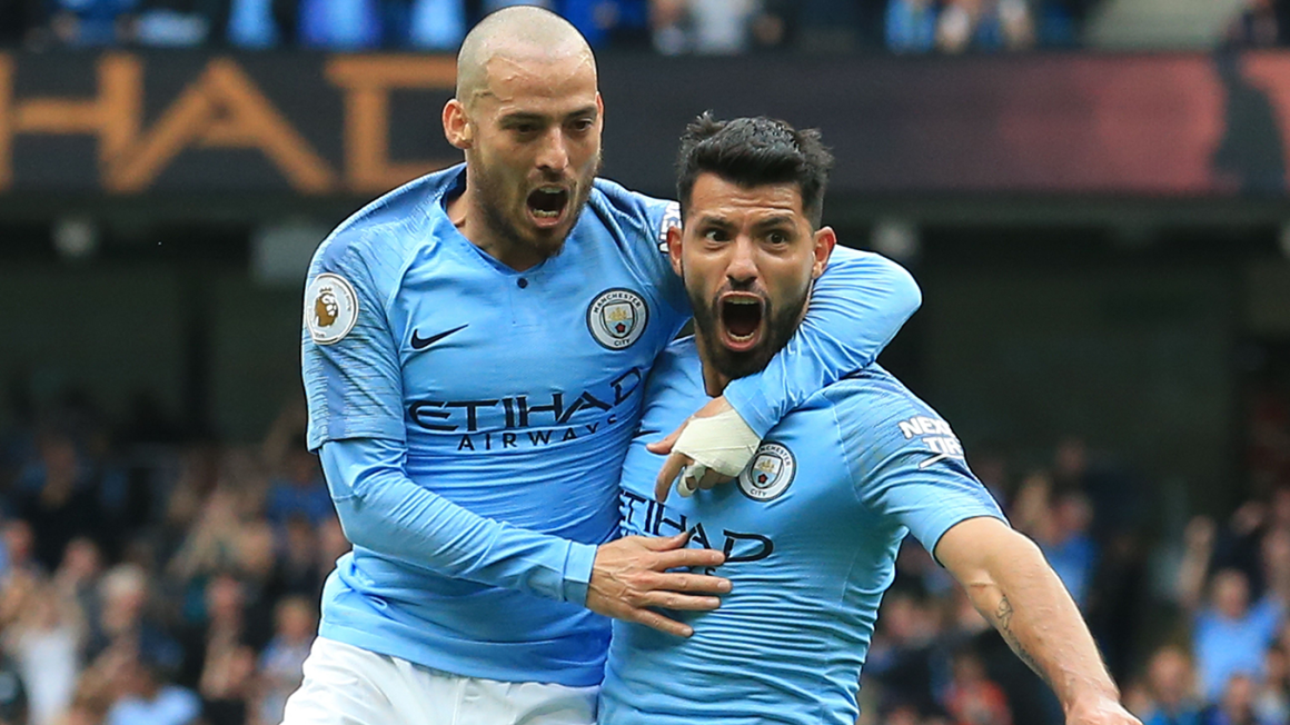 Aguero and Silva become fourth-most prolific partners