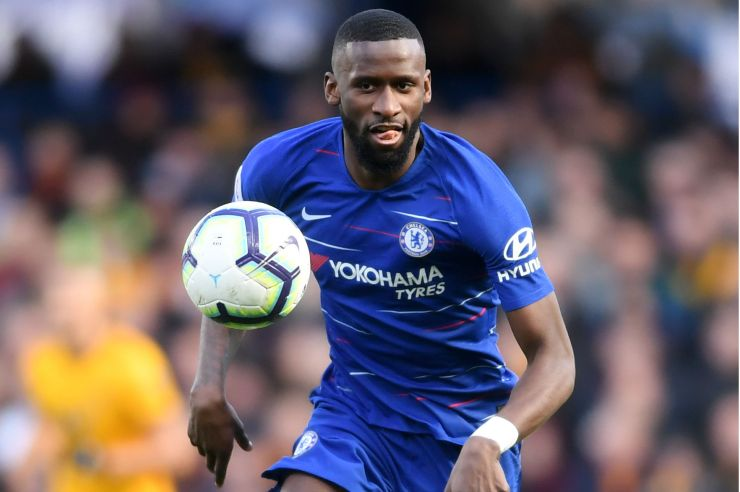 GW32 Differentials: Antonio Rudiger