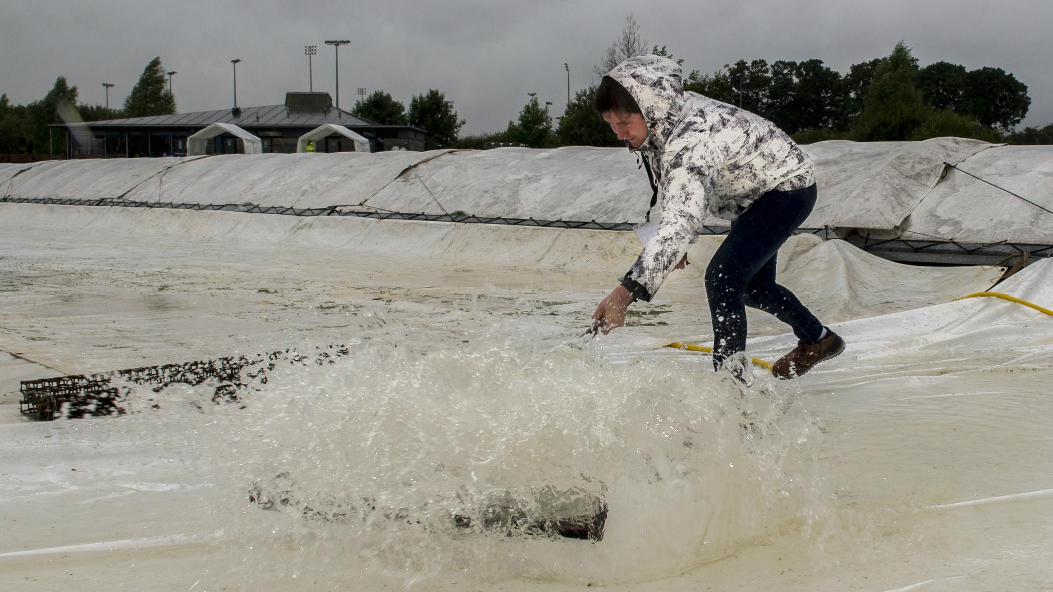 Both Matches Abandoned On Day One Of Women S World T20