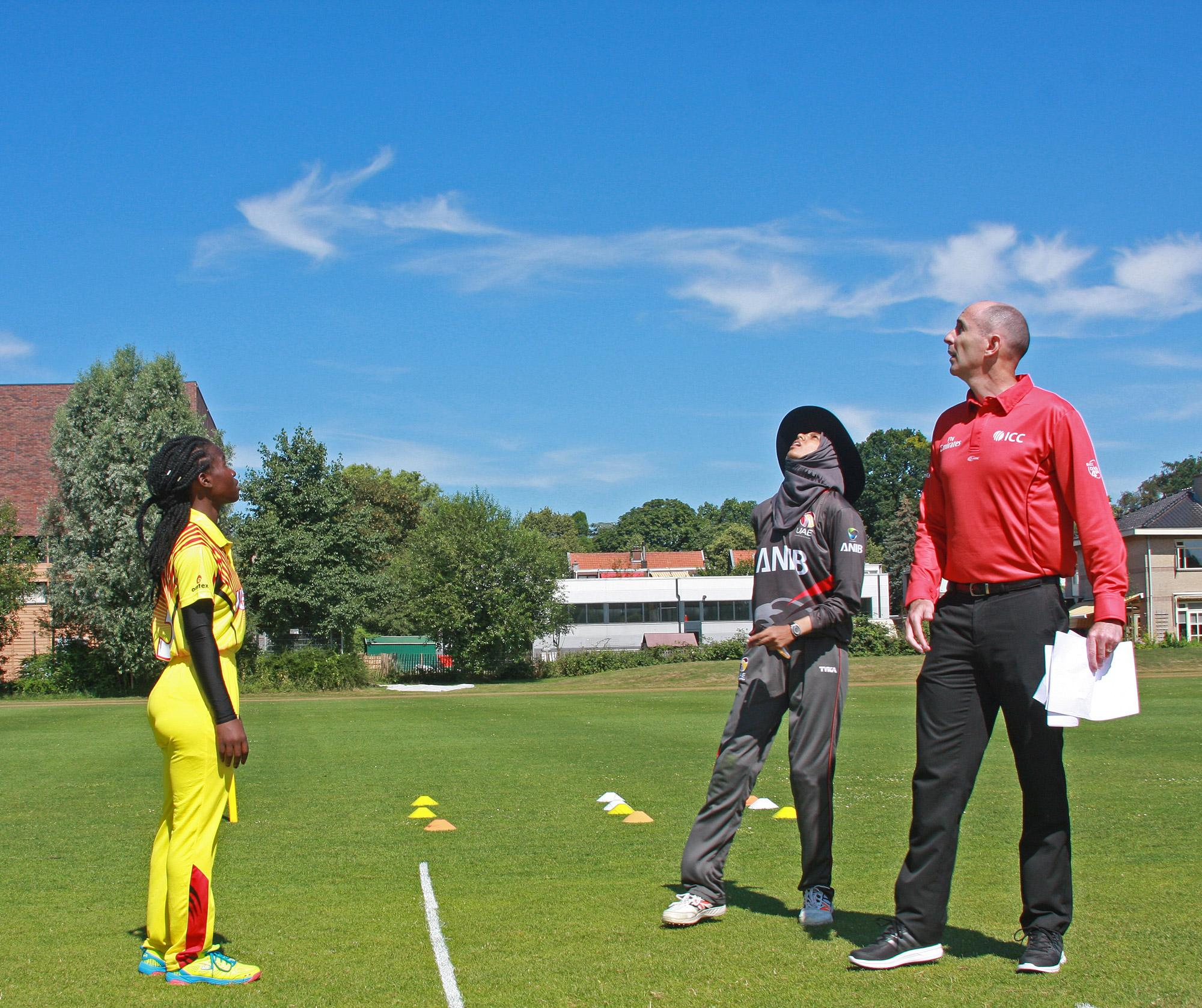Uae Women V Uganda Women Icc Women S World Twenty20