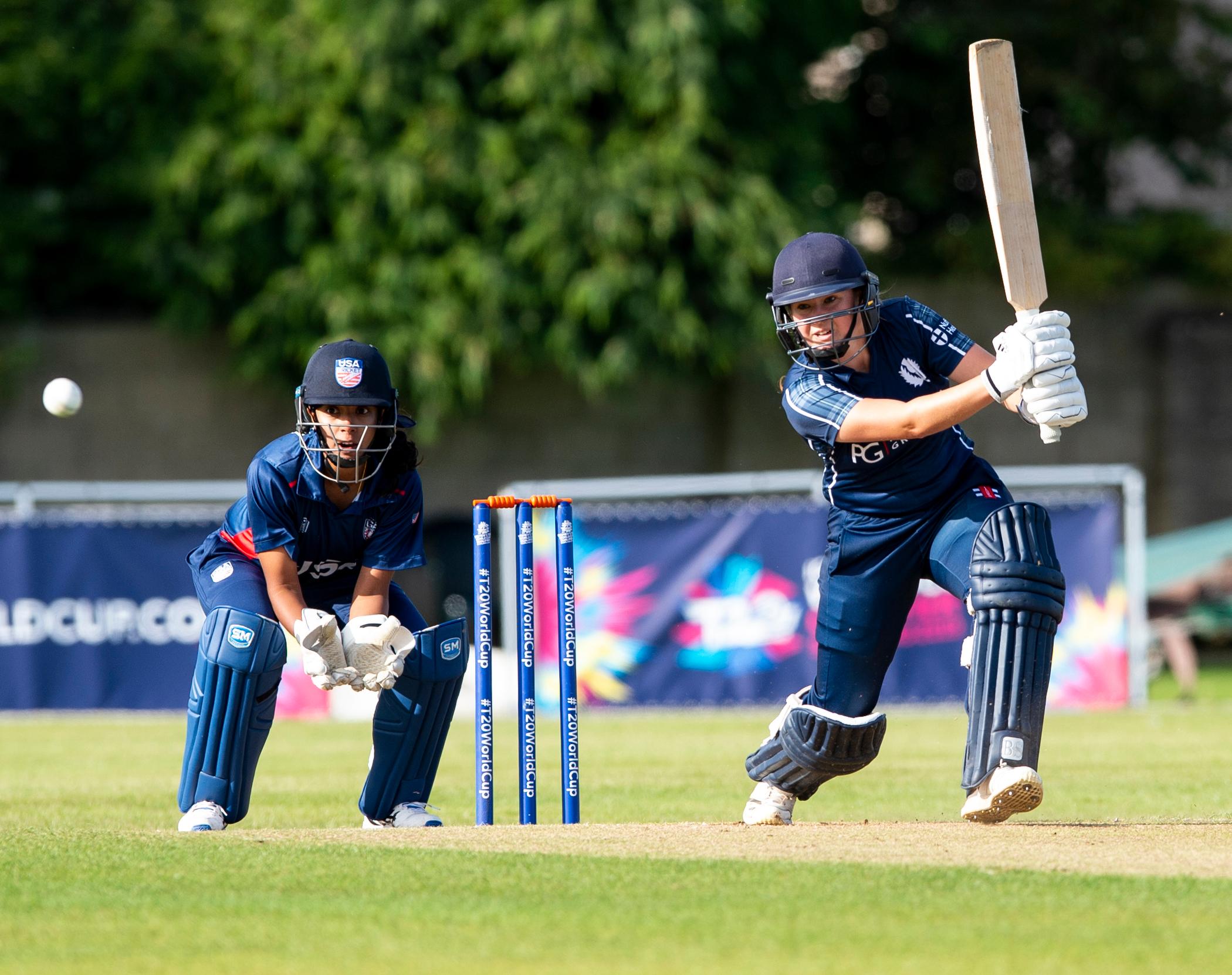 Scotland V Usa 3rd Match Group A Icc Women S T20 World