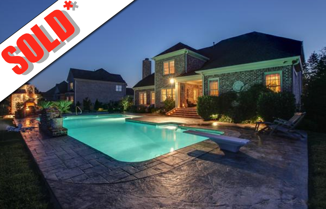 Stags Leap Subdivision FranklinTNHome sold by The Grumbles Team