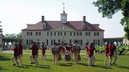 U.S.Army Fife & Drum Corps Performs at Mt. Vernon