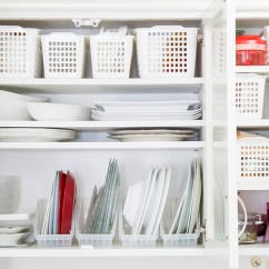 Best Kitchen Stores Timer For Hearing Impaired 日本小厨房收纳术 充分利用小物 百元商店 博客 使用百元商店的a4文件收纳盒以及cd光碟的收纳盒把盘子垂直收纳 可以空出更多空间 照片 Kaumo Jp