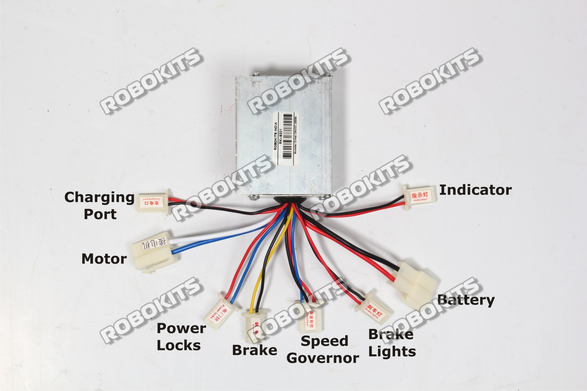 hight resolution of electric motor brush controller