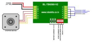 TB6560 Stepper Motor Driver Board 3A [RKI1107]  Rs414