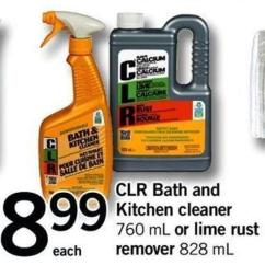 Bath And Kitchen Garbage Pails Clr Cleaner 760 Ml On Sale Salewhale Ca Or Lime Rust Remover 828