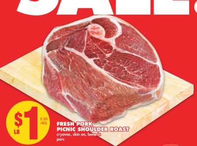 Fresh Pork Picnic Shoulder Roast on sale Salewhaleca