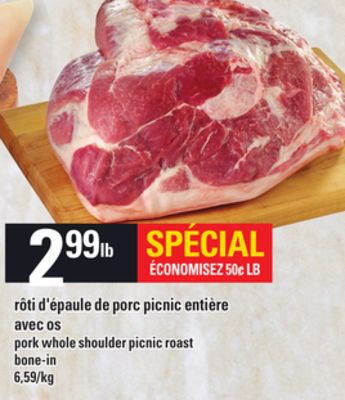 Pork Whole Shoulder Picnic Roast on sale Salewhaleca