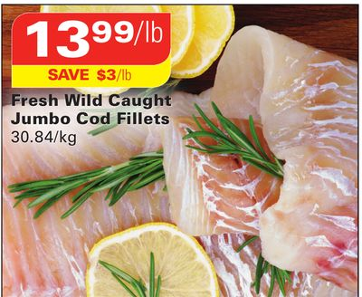 Fresh Wild Caught Jumbo Cod Fillets on sale Salewhaleca