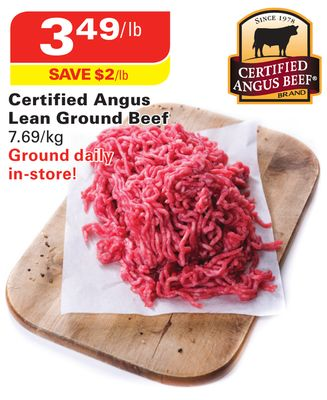 Certified Angus Lean Ground Beef on sale Salewhaleca