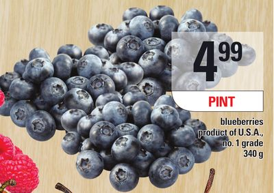 Blueberries Pint 340 g on sale Salewhaleca