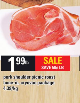 Pork Shoulder Picnic Roast on sale Salewhaleca