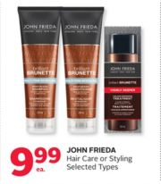 john frieda hair care styling