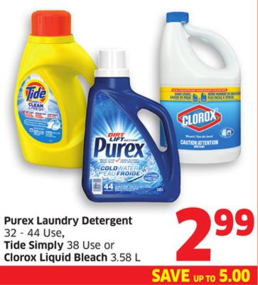 Tide Laundry Detergent on sale   Salewhale.ca