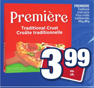 Premiere Traditional Crust Pizza  On Sale  Salewhaleca