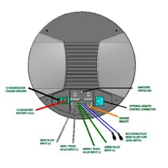 Car Battery Wiring Diagram Automatic Water Level Controller Circuit Bazooka Mobile Audio Tech Diagrams
