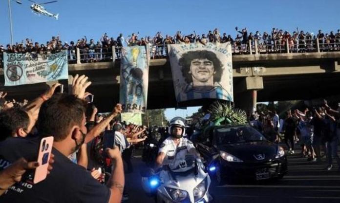 Η Αργεντινή «αποχαιρέτησε» τον Ντιεγκίτο της