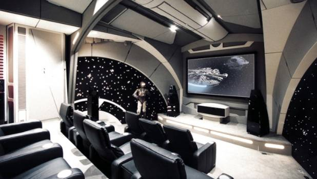 Stellar home design inspired by classic sciencefiction