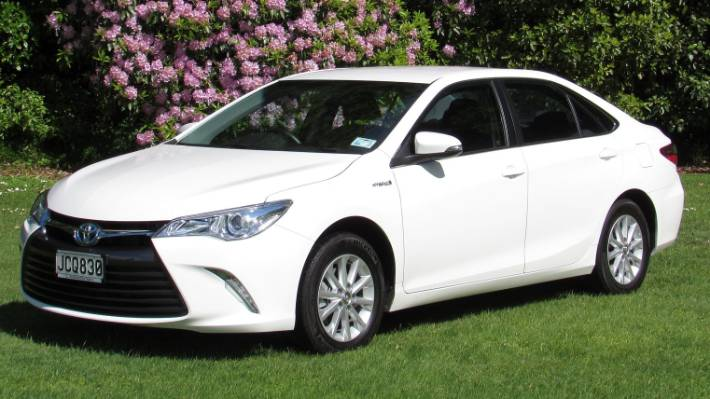 all new camry 2017 indonesia specs toyota hybrid is much more than taxi fare stuff co nz the gl entry model in a three car range