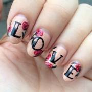 manicure romantic valentines