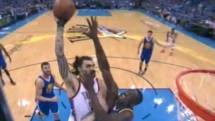 Steven Adams Dominates Groin-kicking Draymond Green With