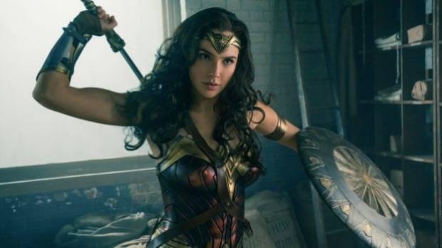 Gal Gadot plays the latest version of Wonder Woman.