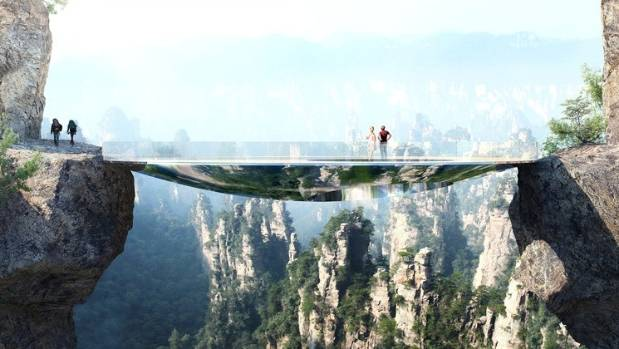 Three more scary bridges planned for China world heritage