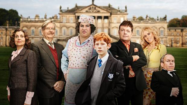 Rebecca Front, James Fleet, David Walliams, Elliot Sprakes, John Thomson, Catherine Tate and Warwick Davis in ...