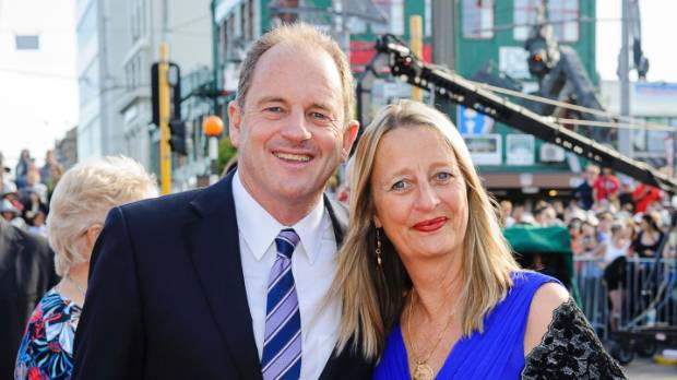 David Shearer will be away from his wife Anuschka Meyer for at least a year.