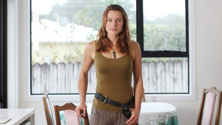 Miriam Lancewood has spent almost seven years living in wildernesses around New Zealand.