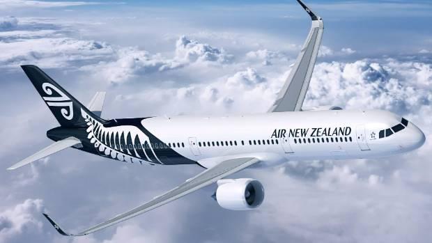 New Air New Zealand A320 aircraft