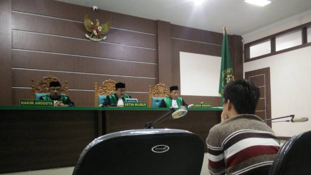 Last week an Indonesian Islamic court sentenced two men to 85 lashes of the cane for having sex together, in Banda Aceh.