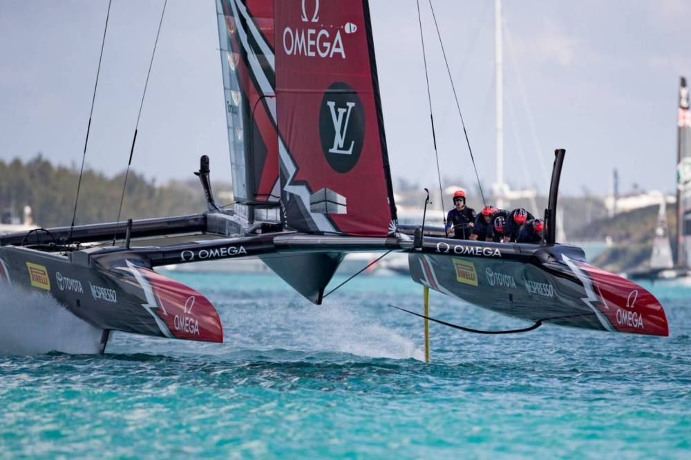 medium resolution of america s cup class yachts are basically aircraft wings balancing on surfboards stuff co nz