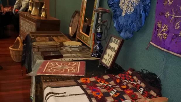 Syrian treasures were on display.