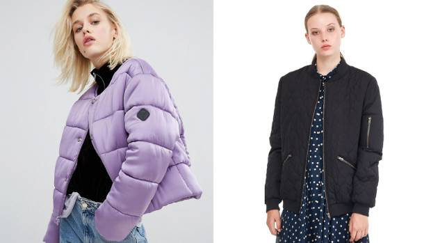 Puffa's collarless puffer jacket, $90 on sale, gets a cool crop and a mauve makeover exclusive to ASOS. For an ...