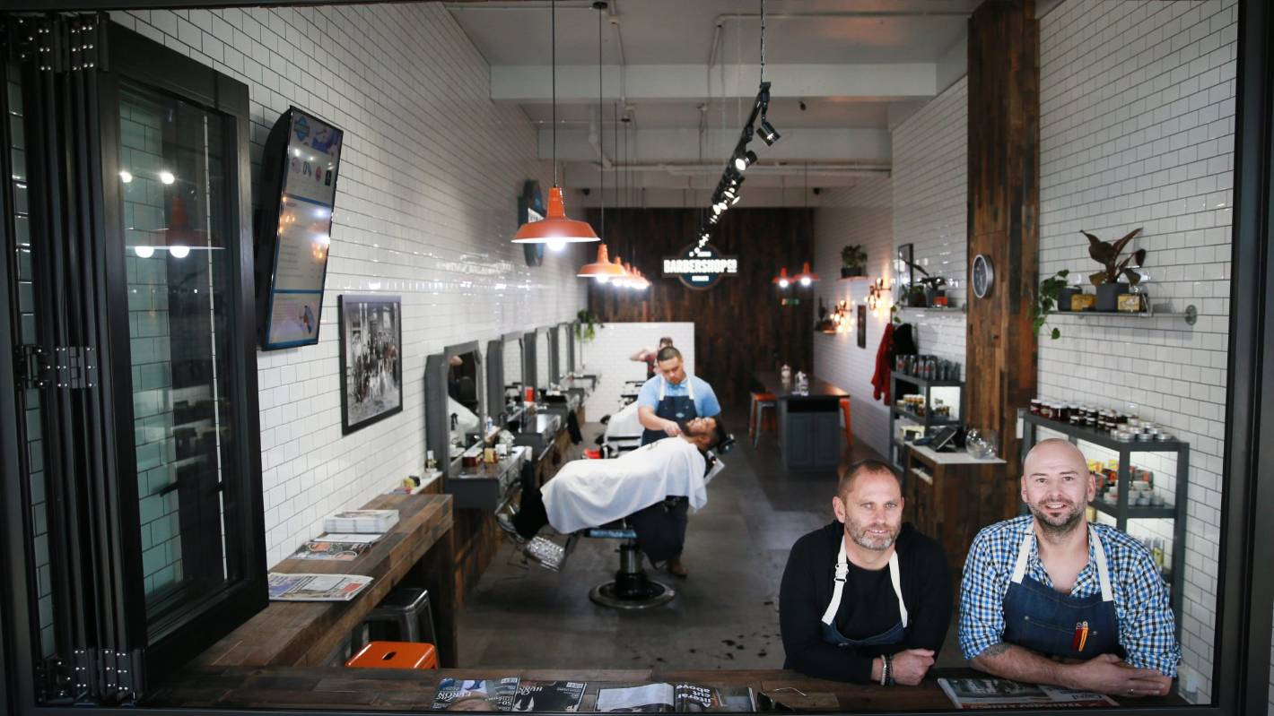 Barber boom in Hamilton as men queue for highend haircuts