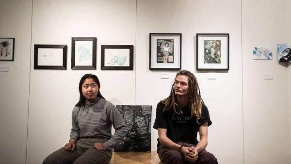 Nelson Students Host Art Exhibition Start Conversation