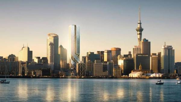 Auckland Changing 'large Town' Thriving City With