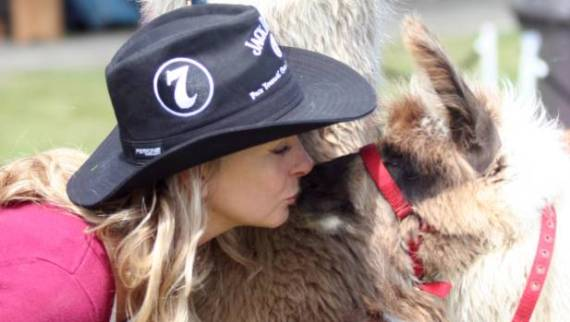 Doterra distributor Rose Scott is also an animal lover and horse rider.