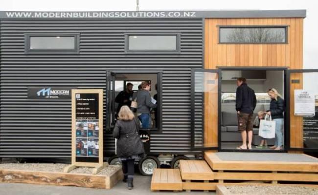 Tiny House On Show At Waikato Home Garden Show Stuff Co Nz