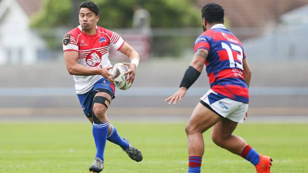 Wing Willie Paia'aua is one of Horowhenua Kapiti best attacking weapons.