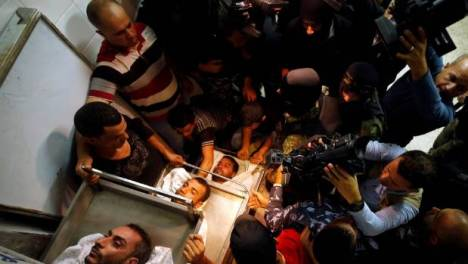 victims of Israeli tunnel blast in gaza