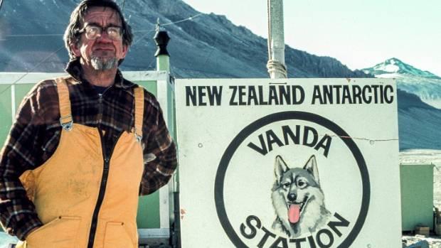 Hardie in the Antarctic.