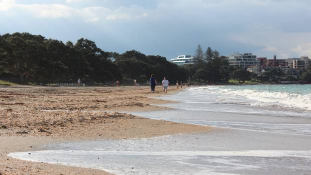 Popular Takapuna beach was marked as unsafe twice in the first week of a new council website, sparking incredulous ...