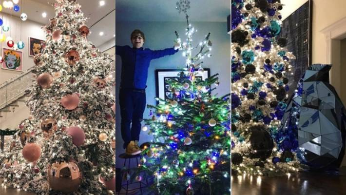 2017 S Best Celebrity Christmas Decorations Stuff Co Nz
