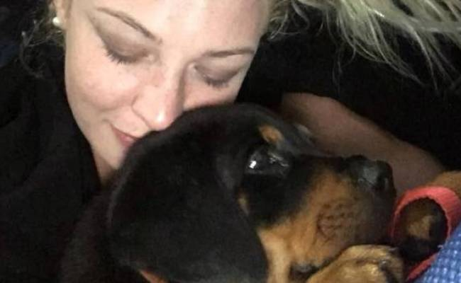 Woman Moved By Support After Puppy Ripped From Her Arms In