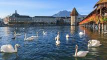 Lucerne Switzerland Town Earth